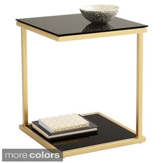 Sunpan Harvey Steel End Table