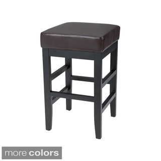 Sunpan Jacob Bonded Leather Counter Stool