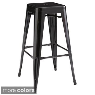 Sunpan Lago Steel Bar Stools (Set of 2)