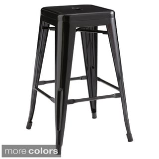Sunpan Lago Steel Counter Stool (Set of 2)