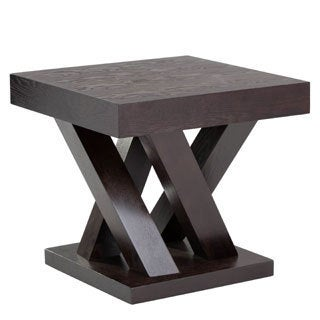 Sunpan Madero Driftwood End Table
