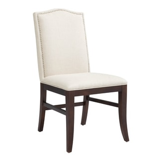 Sunpan Maison Linen Fabric Upholstered Dining Chair (Set of 2)