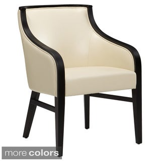 Sunpan Newport Contemporary Bonded Leather Dining Chair