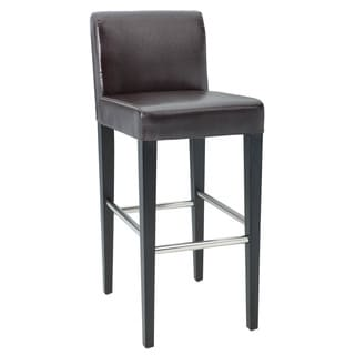 Sunpan Oriana Bonded Leather Bar Stool
