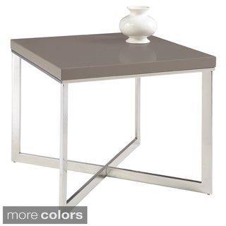 Sunpan Pilot Square Modern End Table