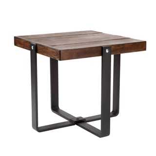 Sunpan Ronan Distressed End Table