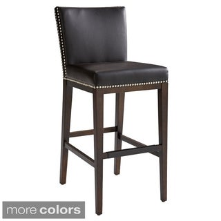 Sunpan Vintage Bonded Leather Barstool