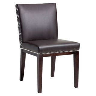Sunpan '5West' Vintage Bonded Leather Dining Chairs (Set of 2)