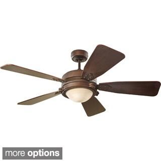 Monte Carlo Vintage Industrial 52-inch 5-blade Ceiling Fan