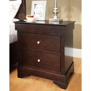 Abbyson Living Wilshire 2-drawer Nightstand