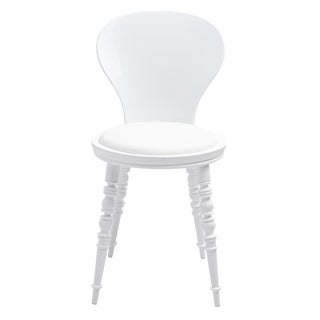 American Atelier Living White Wynona Chair