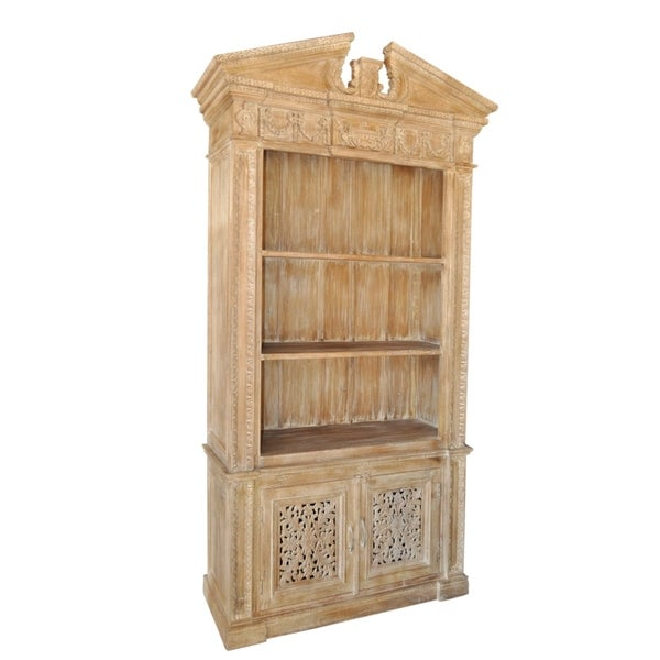Carver Tall 2-door Wall Storage Cabinet