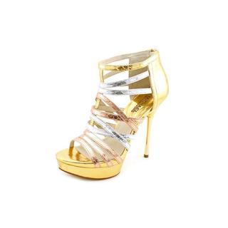 Michael Kors Women's 'Maddie' Leather Sandals
