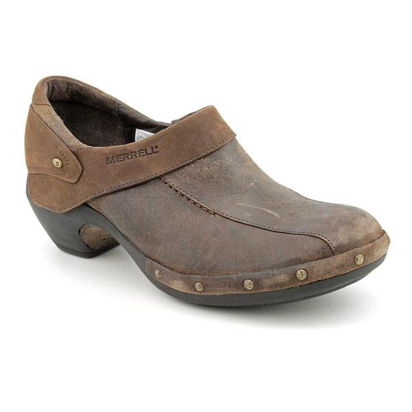 Merrell Women's 'Luxe' Distressed Leather Casual Shoes (Size 7.5 )