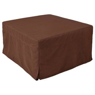 Ottoman Sleeper with Microfiber Cover and Memory Foam Pads