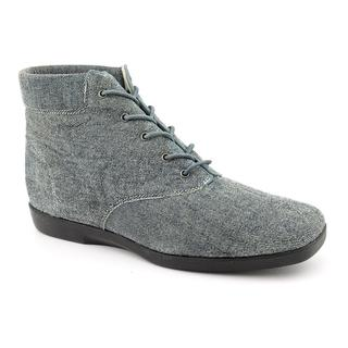 Ros Hommerson Women's 'Clock' Denim Boots - Extra Wide (Size 8.5 )