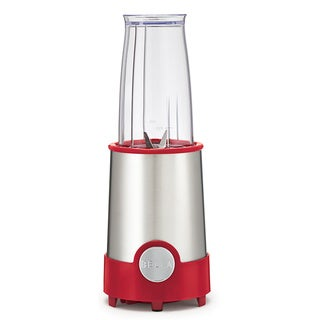 Bella 12-piece Red/ Stainless Steel Rocket Blender