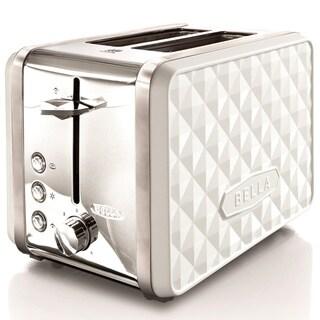 Bella Diamond White 2-slice Toaster