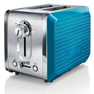 Bella Dots Teal 2-slice Toaster