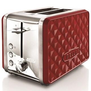 Bella Diamond Red 2-slice Toaster