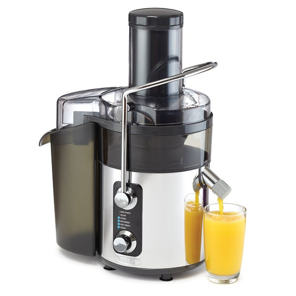 Bella stainless steel 5 speed juicer 16388943 for Alpine cuisine juicer