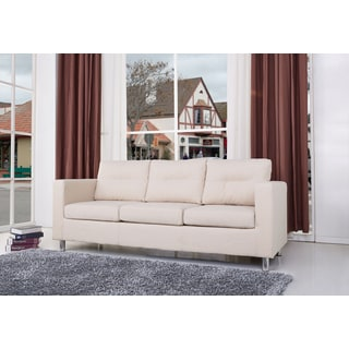 Gold Sparrow Detroit Beige Fabric Sofa