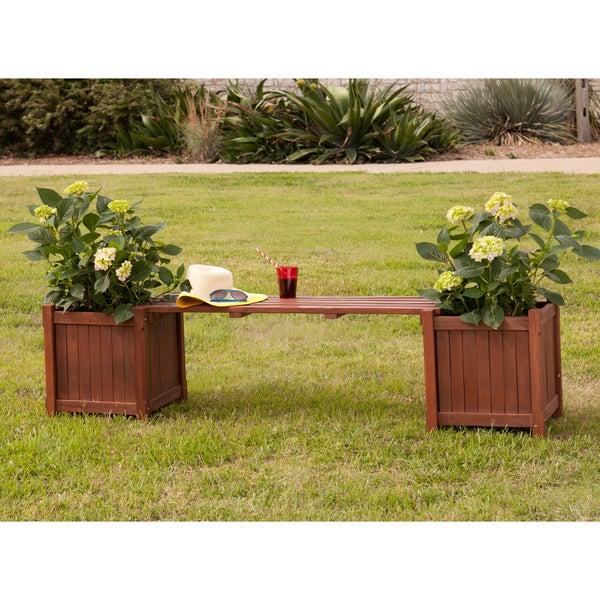 Upton Home Kellen Planter Holder Bench
