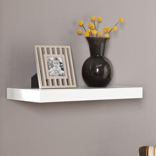 Upton Home Vera 24-inch White Floating Shelf