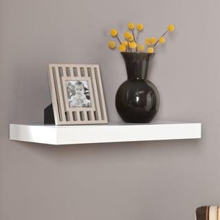 Upton Home Vera 24-inch White Floating Shelf