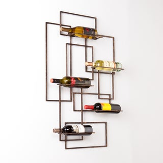 Upton Home Carlisle Wall Mount Wine Sculpture