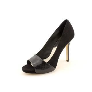 Michael Kors Women's 'Leighton Peep' Leather Dress Shoes (Size 9 )