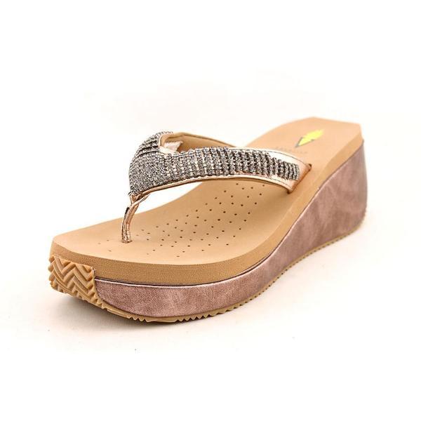 Volatile Women's 'Fairydust' Leather Sandals (Size 9 )