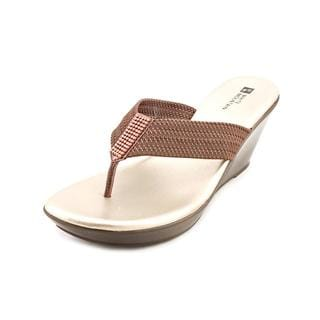 White Mountain Women's 'Ray' Basic Textile Sandals (Size 6.5 )