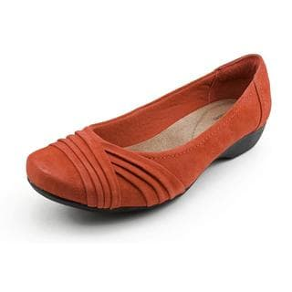Clarks Women's 'Propose Pixie' Regular Suede Casual Shoes