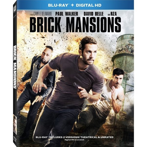 Brick Mansions (Blu-ray Disc) 13340814