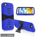 BasAcc Stand Screen Protector PC Silicone Hybrid Case for BLU Life View L110a