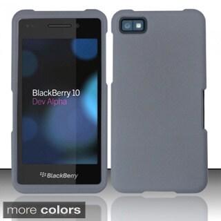 INSTEN Pattern Design Rubberized Hard Plastic Phone Case Cover for Blackberry Z10
