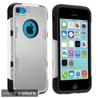 BasAcc High Impact Aluminum PC Silicone Hybrid Case Cover for Apple iPhone 5C