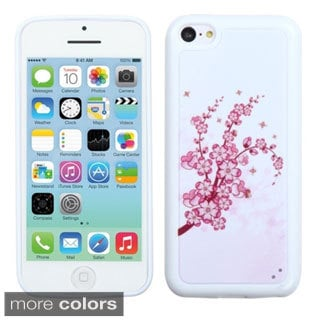BasAcc Tribal Pattern White TPU Gummy Case Cover for Apple iPhone 5C