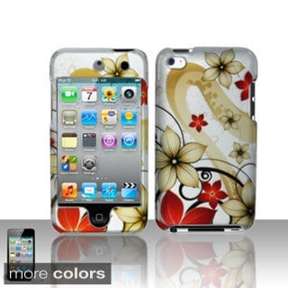 BasAcc Pattern Design Rubberized Hard Case Cover for Apple iPod touch 4th