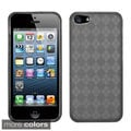 BasAcc Argyle TPU Rubber Candy Skin Case Cover for Apple iPhone 5/ 5S