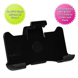 BasAcc Black With Kickstand Belt Clip Holster for Apple iPhone 5/5c/5s