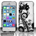BasAcc Pattern Design Rubberized Hard Case Cover for Apple iPhone 5C