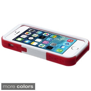BasAcc Stand Soccer Player Goalkeeper Dual Hybrid Case for Apple iPhone 5/ 5S