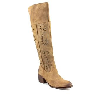 Carlos Santana Women's 'Noble' Leather Boots (Size 6.5 )