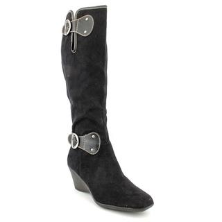 Aerosoles Women's 'Wonderling' Fabric Boots - Wide