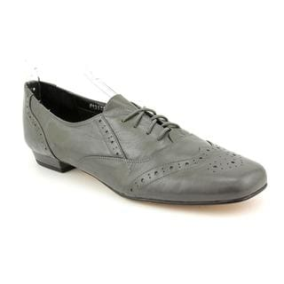 Ros Hommerson Women's 'Jake' Leather Casual Shoes - Extra Wide (Size 7 )
