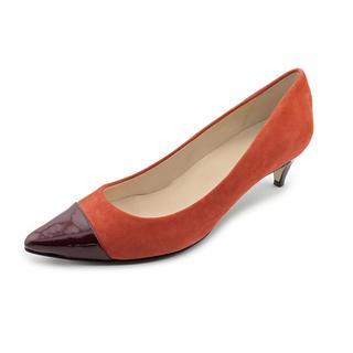 Cole Haan Women's 'Juliana Lo.Pump.Capt' Regular Suede Dress Shoes (Size 10 )
