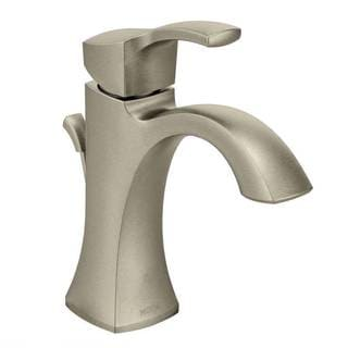 Moen Voss Brushed Nickel One-handle High Arc Bathroom Faucet