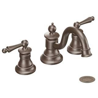 Moen Waterhill Oil Rubbed Bronze Two-handle High Arc Bathroom Faucet